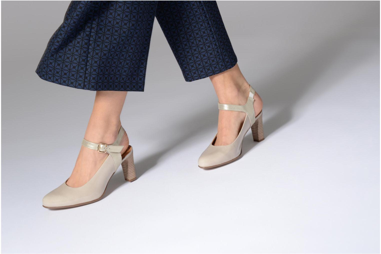High heels Karston Idax Grey view from underneath / model view