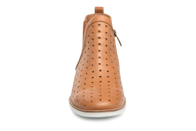 Ankle boots Karston Jijou Brown model view