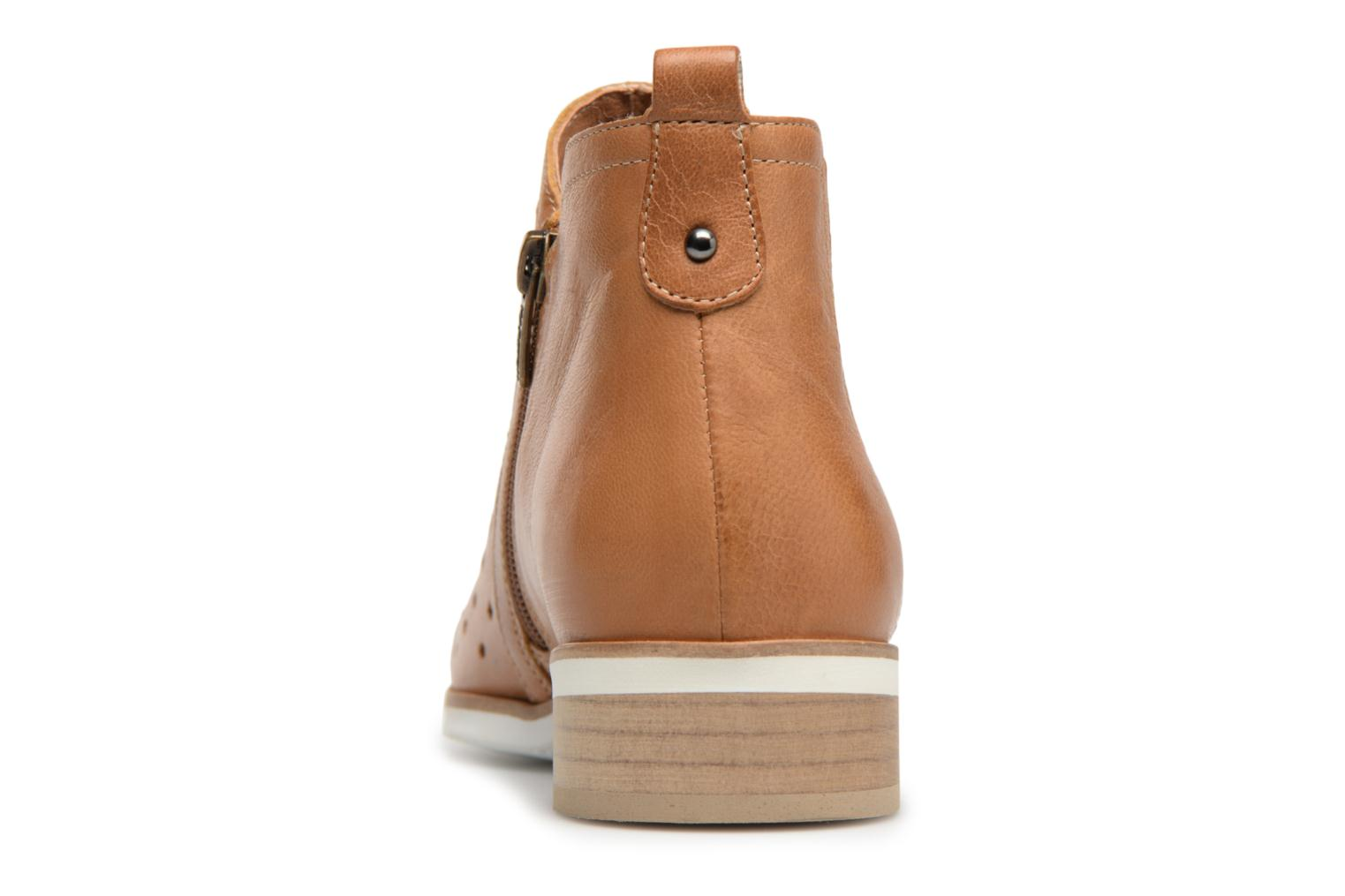 Ankle boots Karston Jijou Brown view from the right