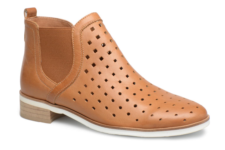Ankle boots Karston Jijou Brown detailed view/ Pair view