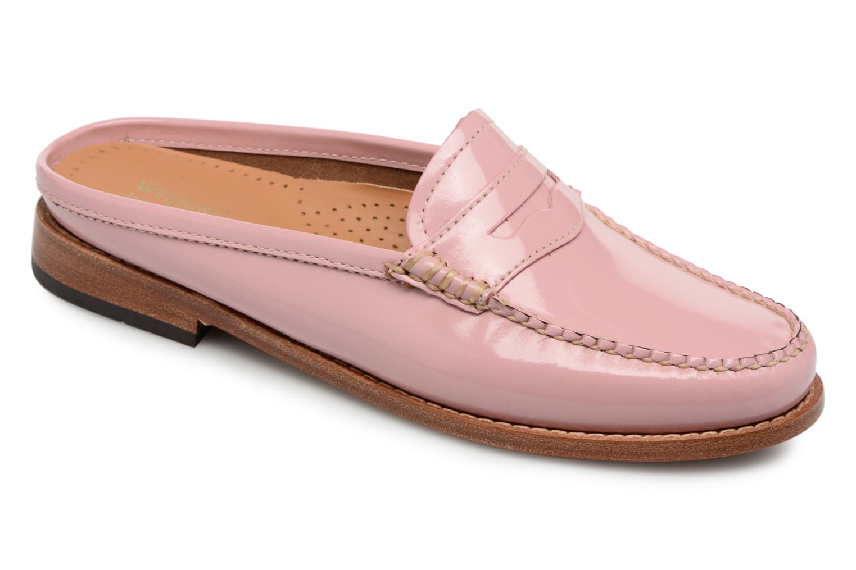 Zapatos especiales para hombres y mujeres G.H. Bass WEEJUN WMN Penny Slide Wheel (Rosa) - Mocasines en Más cómodo