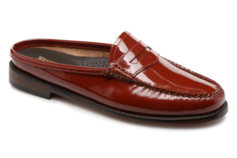 Grandes descuentos últimos zapatos G.H. Bass WEEJUN WMN Penny Slide Wheel (Rojo) - Mocasines Descuento