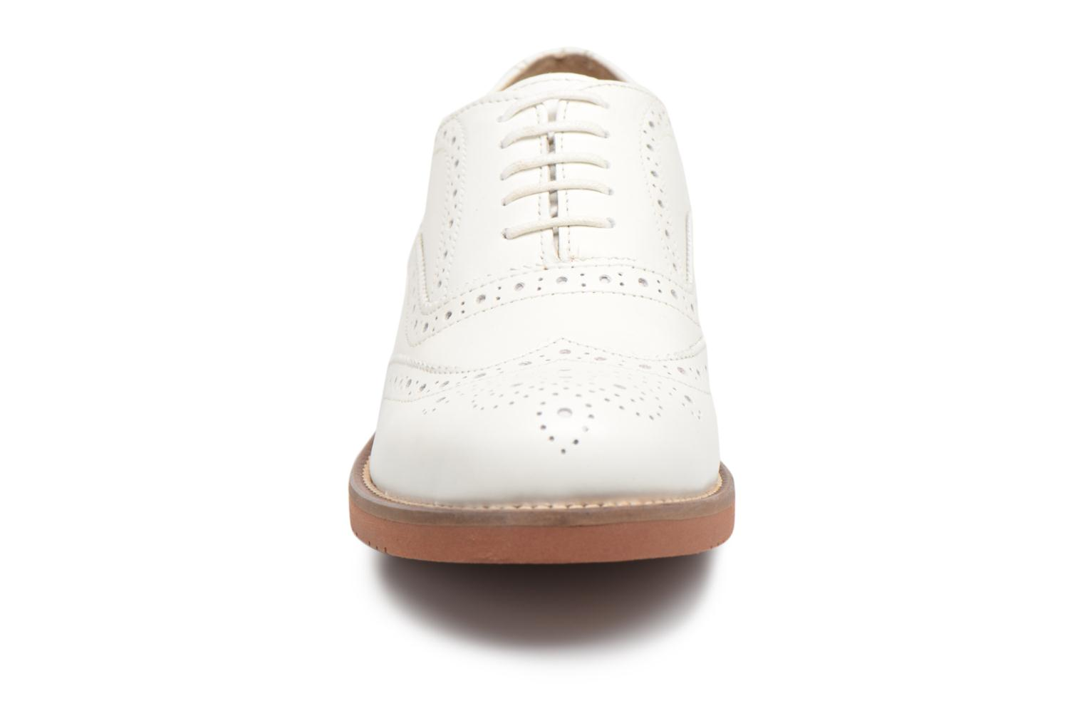 G.H. Bass ALBANY Oxford Brogue Metal Wit