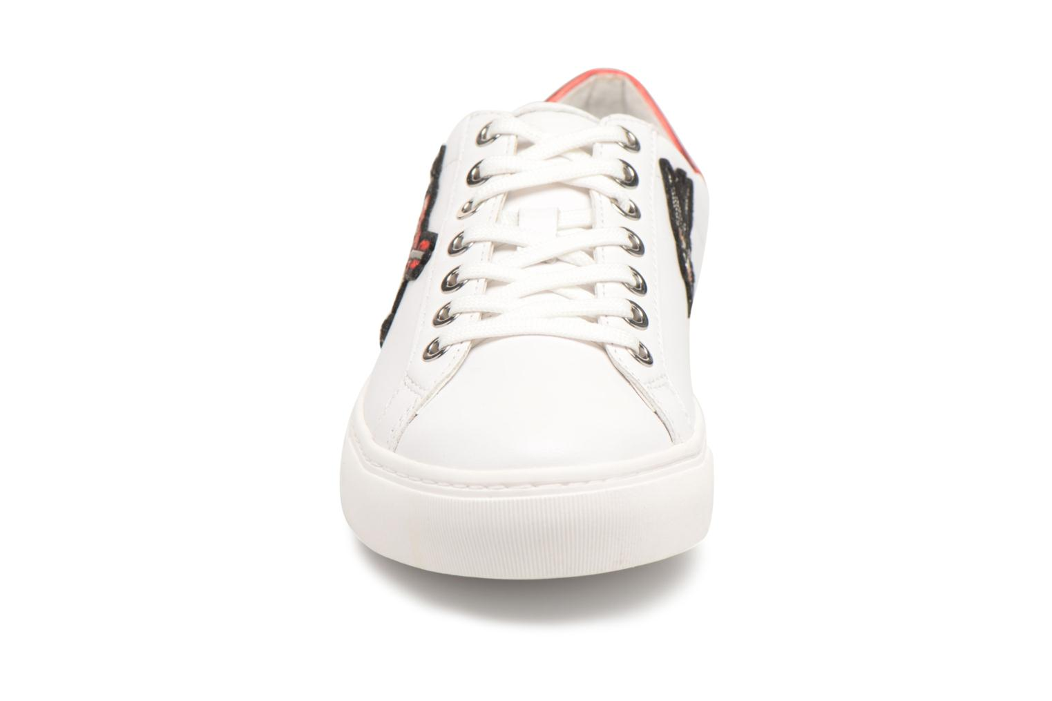 Trainers Karl Lagerfeld KUPSOLE Captain Karl Lace White model view
