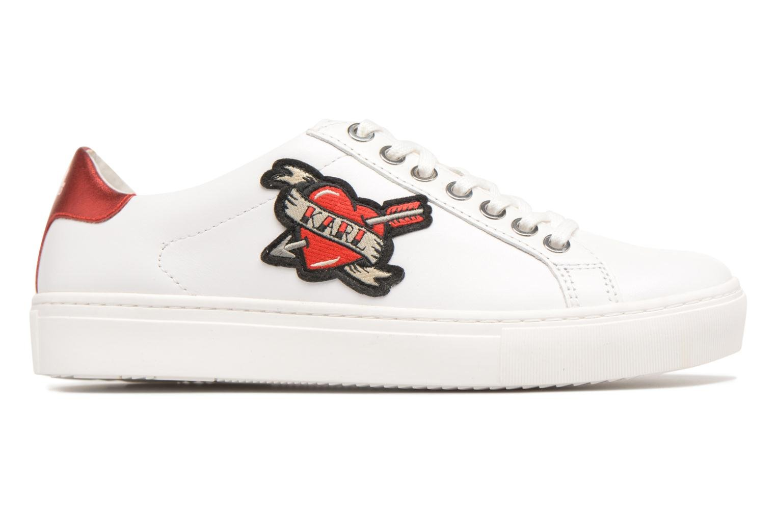 Trainers Karl Lagerfeld KUPSOLE Captain Karl Lace White back view