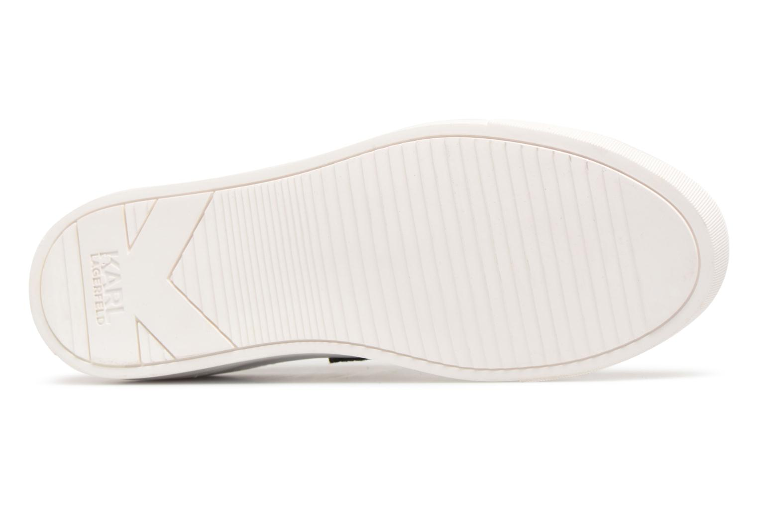 Trainers Karl Lagerfeld KUPSOLE Captain Karl Lace White view from above