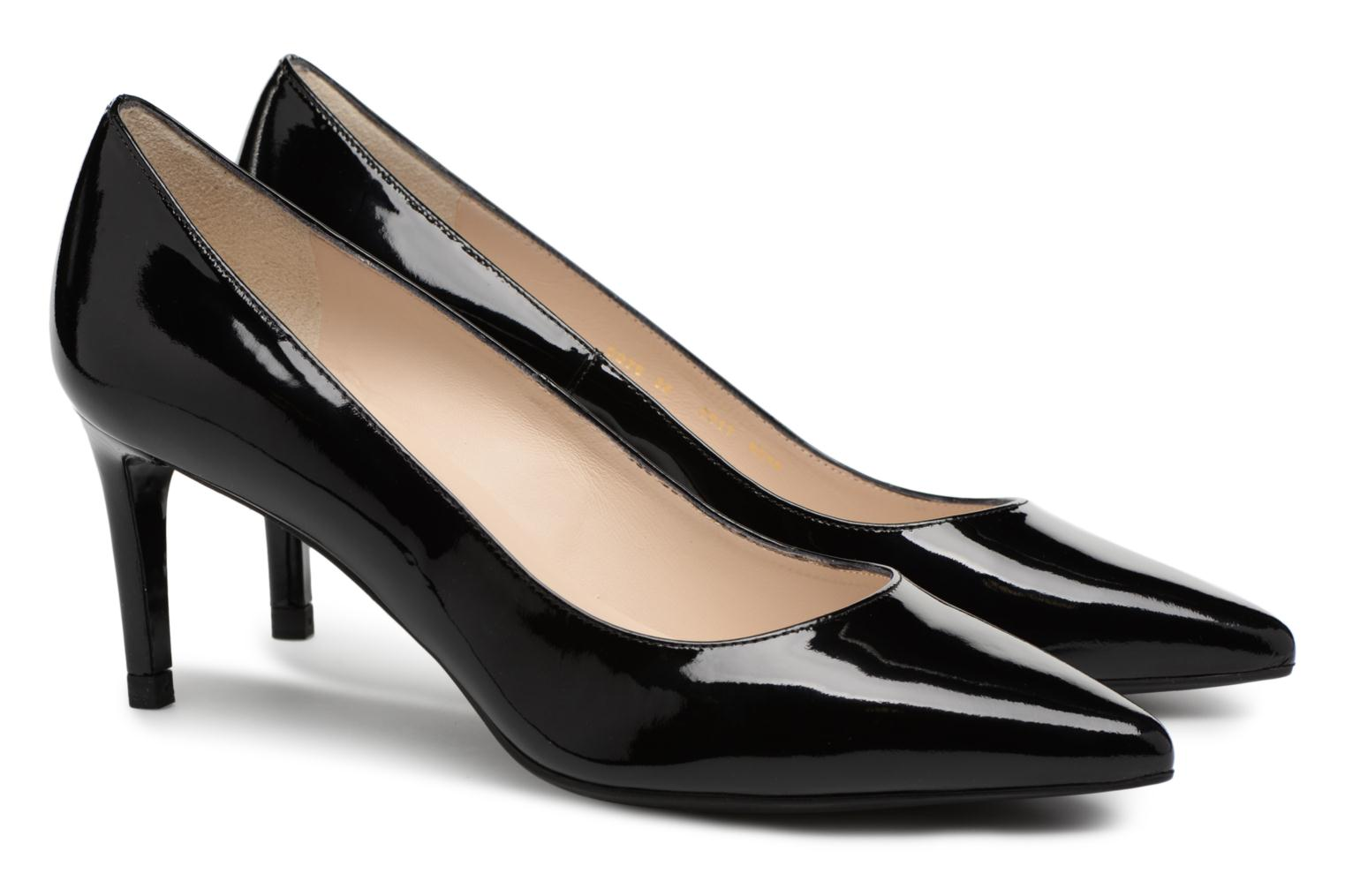 Marques Chaussure luxe femme L.K. Bennett femme Caisie Black Patent