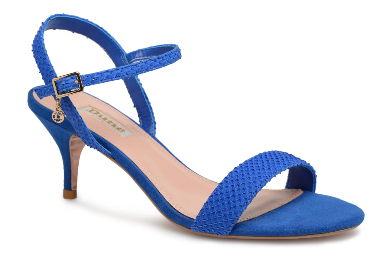 Marques Chaussure femme Dune London femme MONNROW Blue Reptile