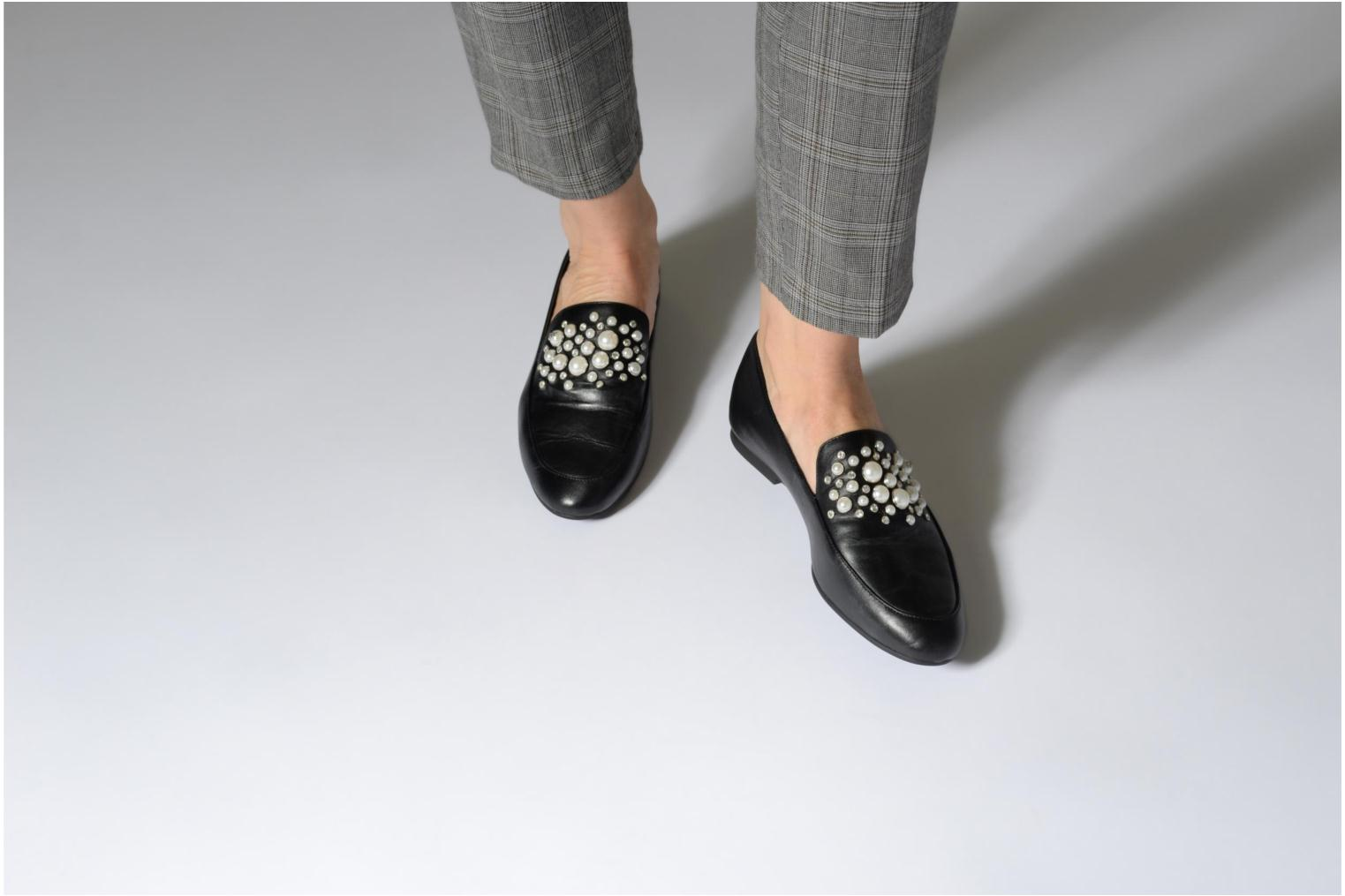 Loafers Michael Michael Kors Gia Loafer Black view from underneath / model view