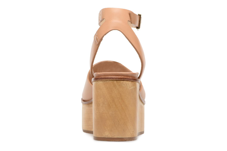 Sandales et nu-pieds Neosens BREVAL S507 Beige vue droite