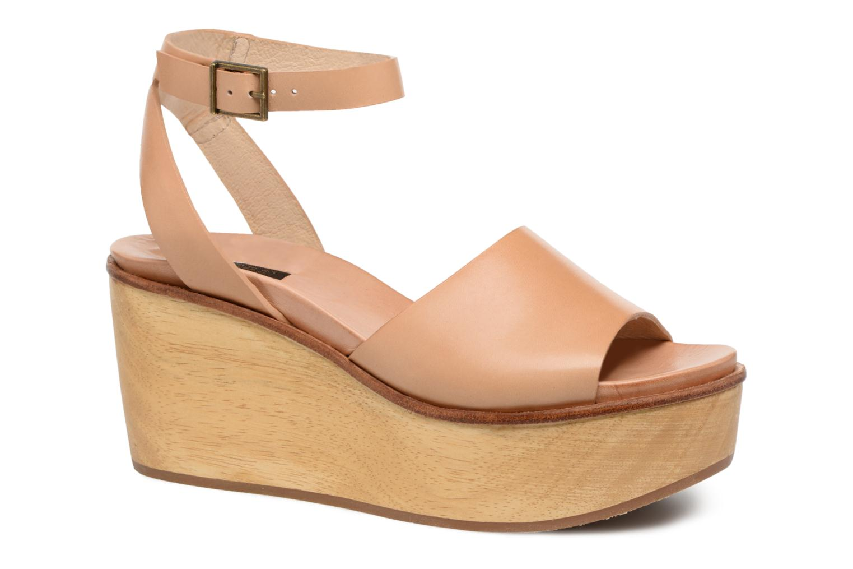 Sandales et nu-pieds Neosens BREVAL S507 Beige vue détail/paire