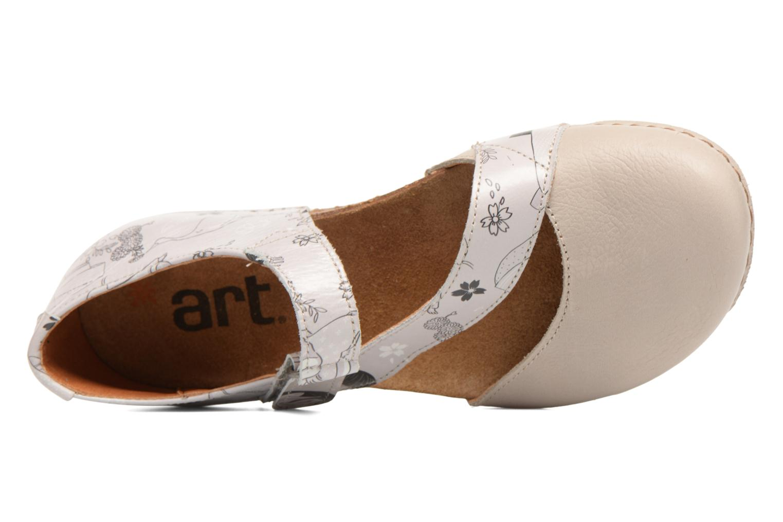 Ballerines Art Creta 1250F Blanc vue gauche