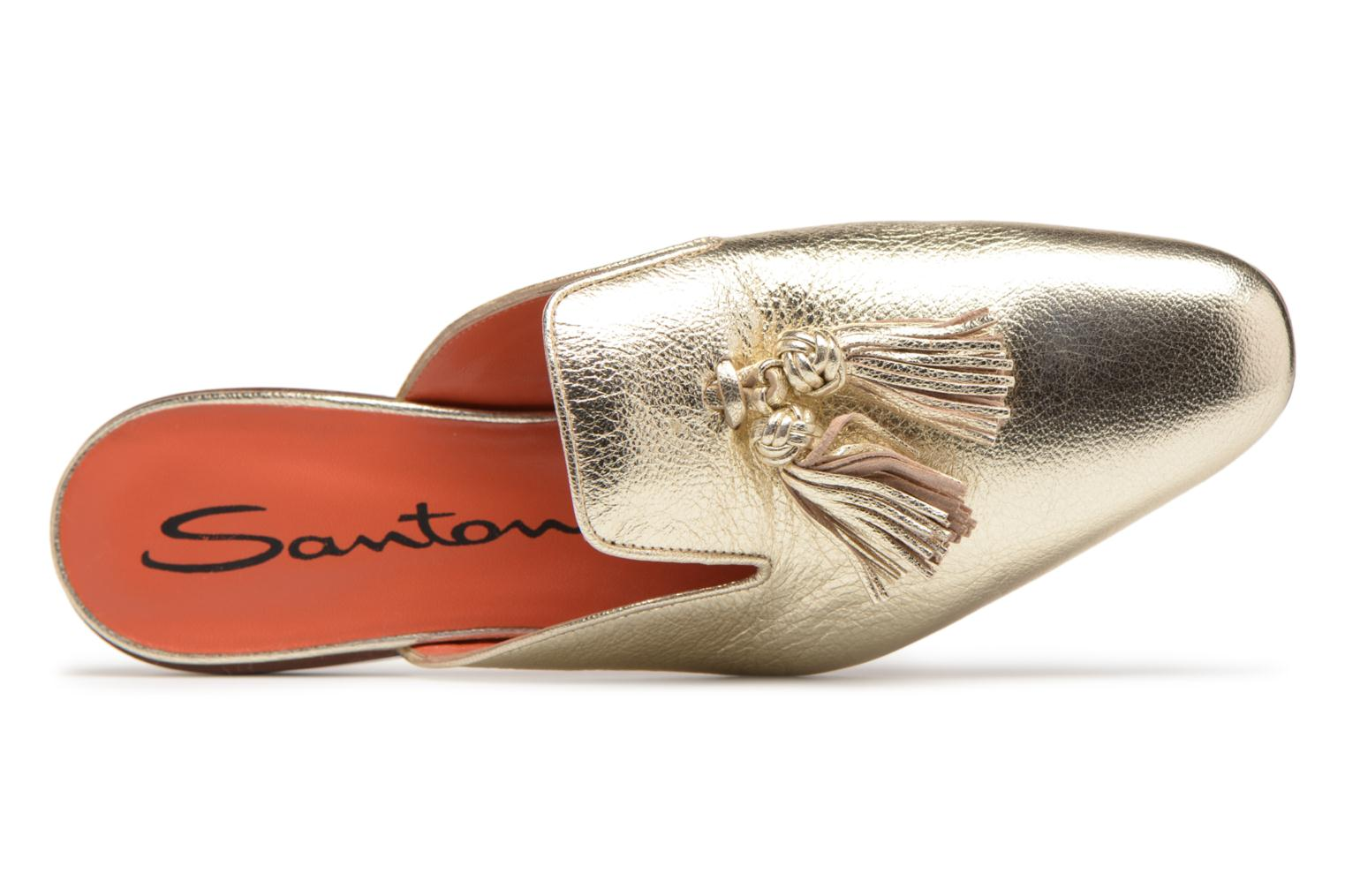 Wedges Santoni Victoria Goud en brons links