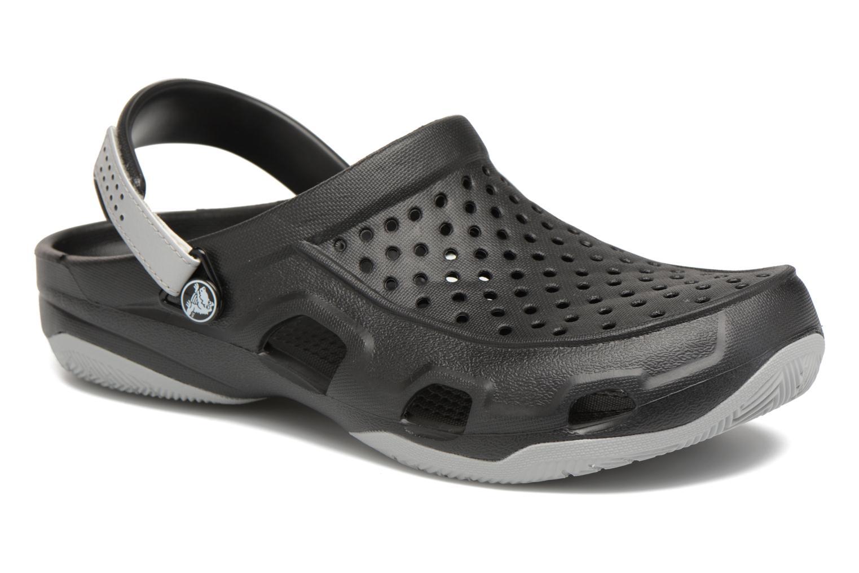 Crocs Swiftwater Deck Clog M (Noir) - Sandales et nu-pieds chez Sarenza (312482)