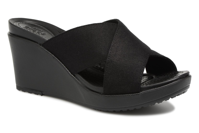 ZapatosCrocs Leigh II XStrap Wedge (Negro) - Zuecos   de Descuento de  la marca f46aec