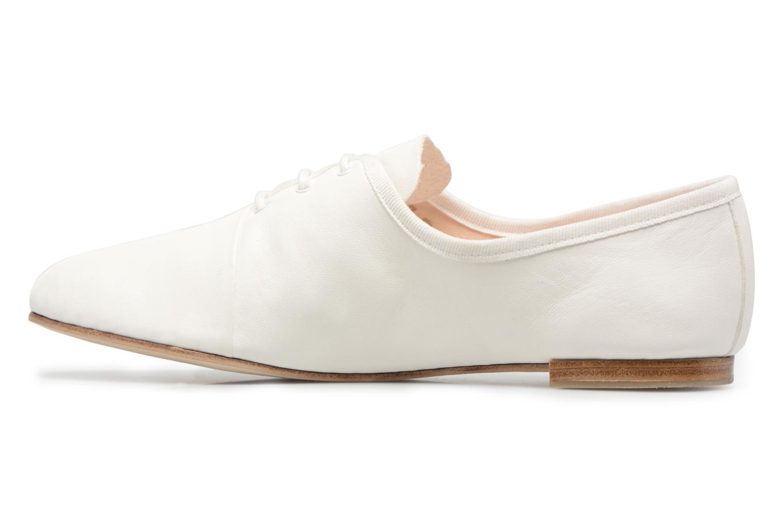 Chaussures à lacets Opéra national de Paris Elme 1421 Blanc vue face