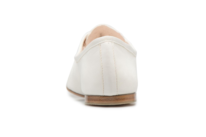 Chaussures à lacets Opéra national de Paris Elme 1421 Blanc vue droite