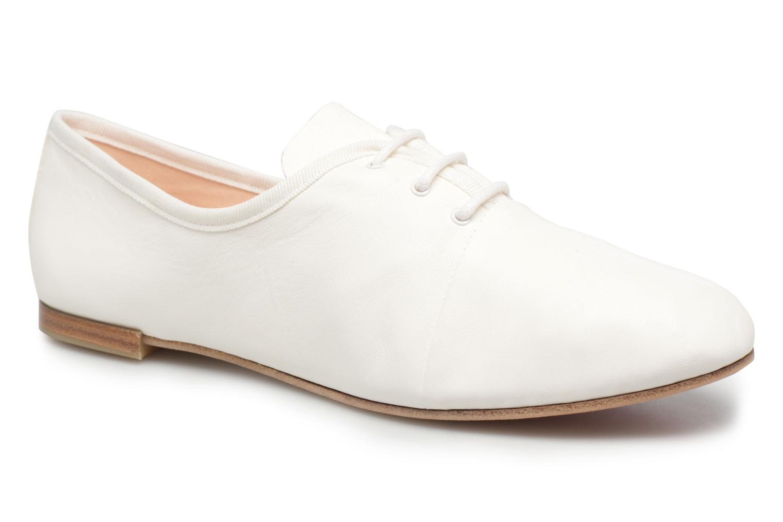 Chaussures à lacets Opéra national de Paris Elme 1421 Blanc vue détail/paire