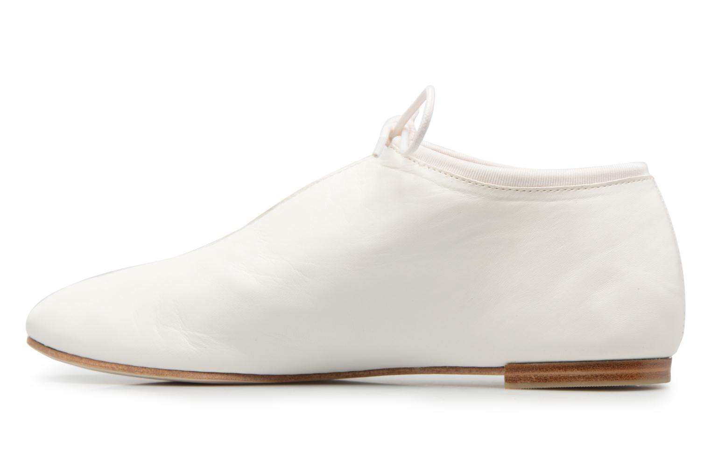 Lace-up shoes Opéra national de Paris Elysee 1421 White front view