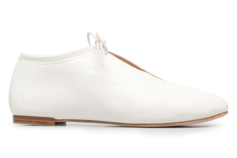 Lace-up shoes Opéra national de Paris Elysee 1421 White back view