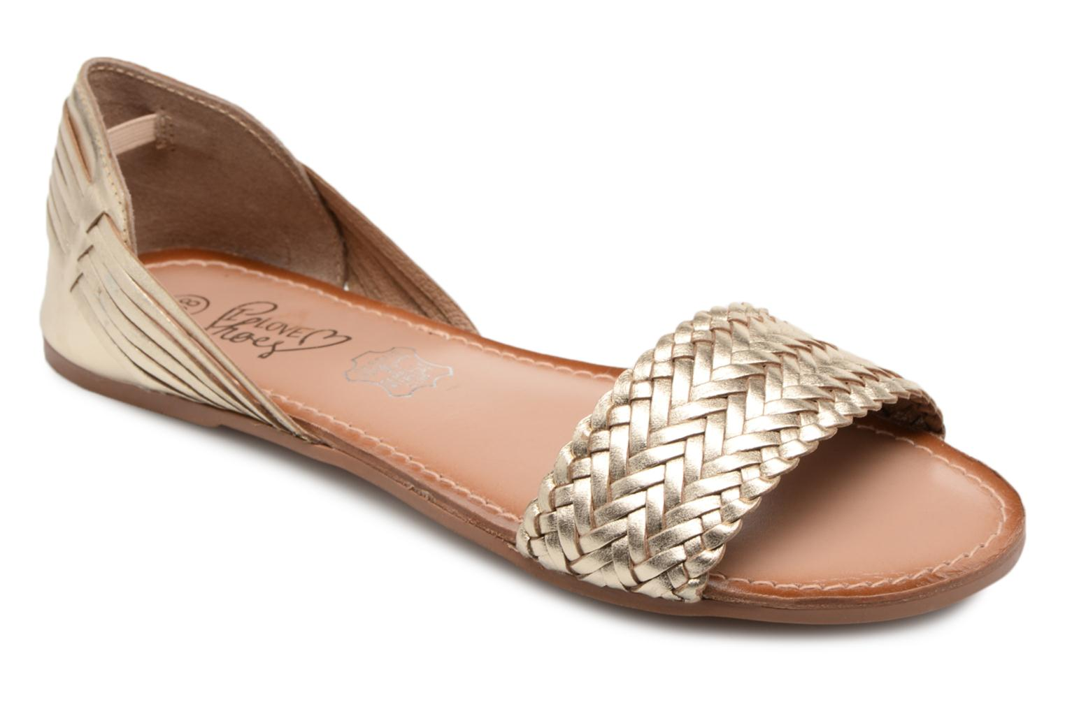 Marques Gold Chaussure I Femme Shoes Kerina Love Leather 60Ar6HWqZS