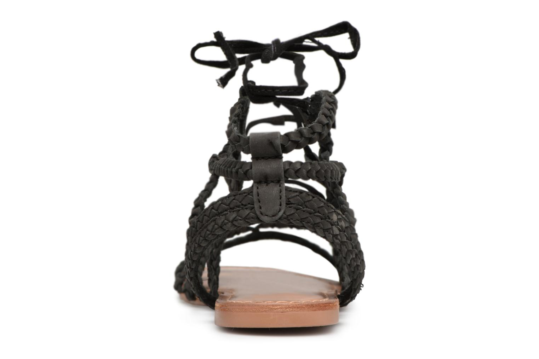 Sandales et nu-pieds I Love Shoes Supergli Leather Noir vue droite