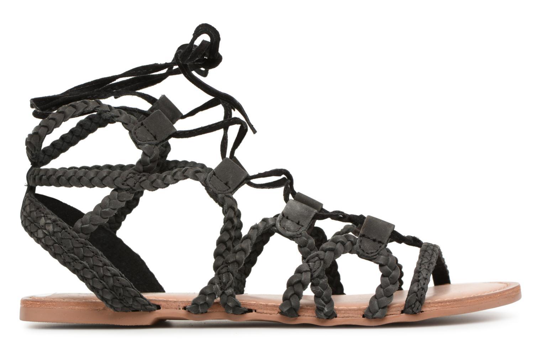 Sandales et nu-pieds I Love Shoes Supergli Leather Noir vue derrière