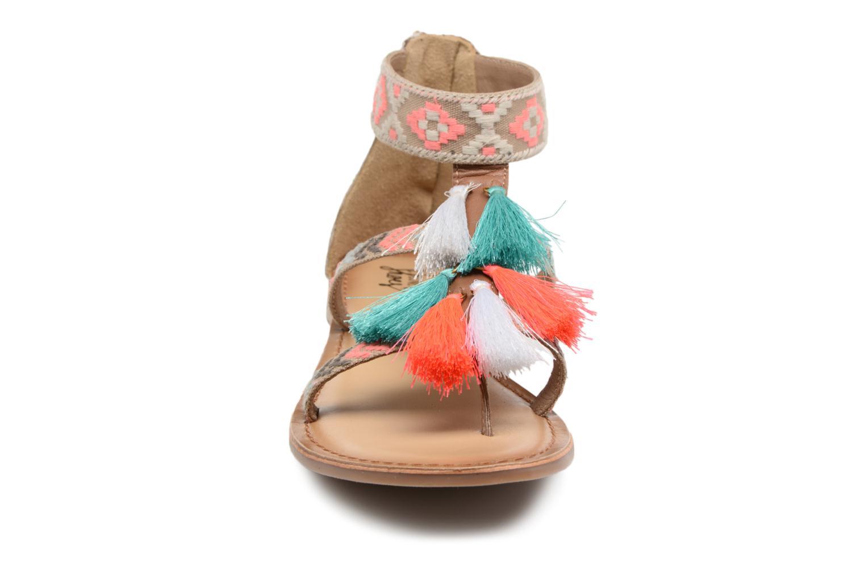 Sandales et nu-pieds I Love Shoes Kebam Leather Multicolore vue portées chaussures