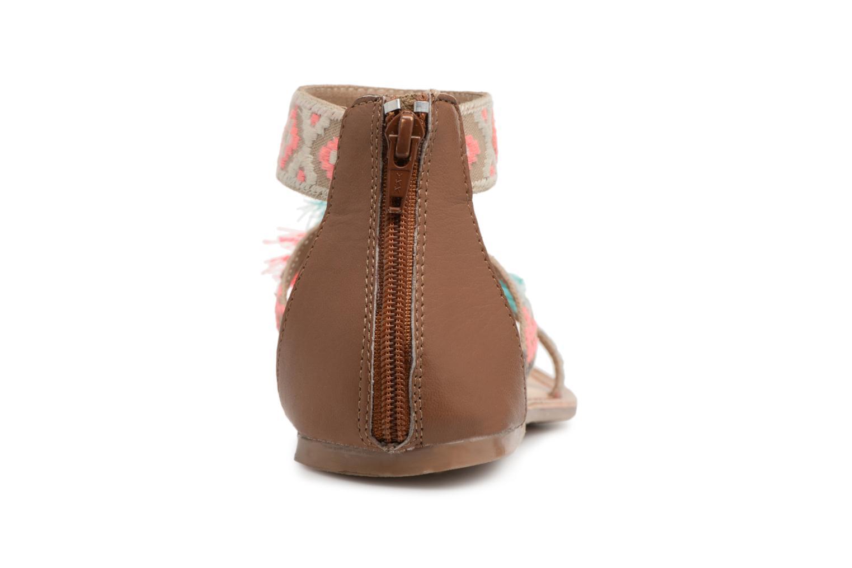 Sandales et nu-pieds I Love Shoes Kebam Leather Multicolore vue droite