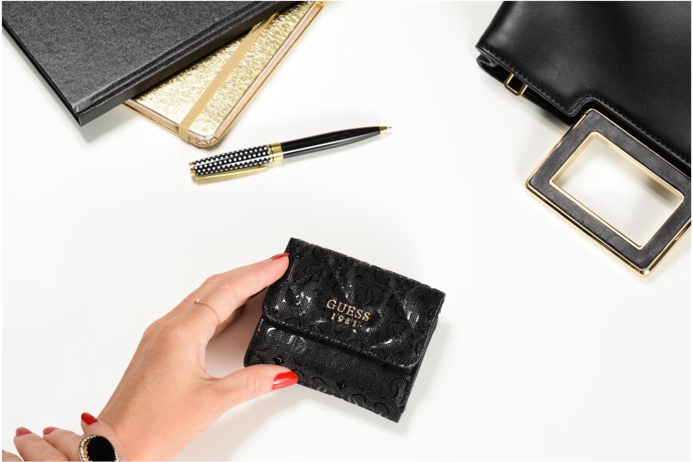 Seraphina SLG Card and Coin Prse Black