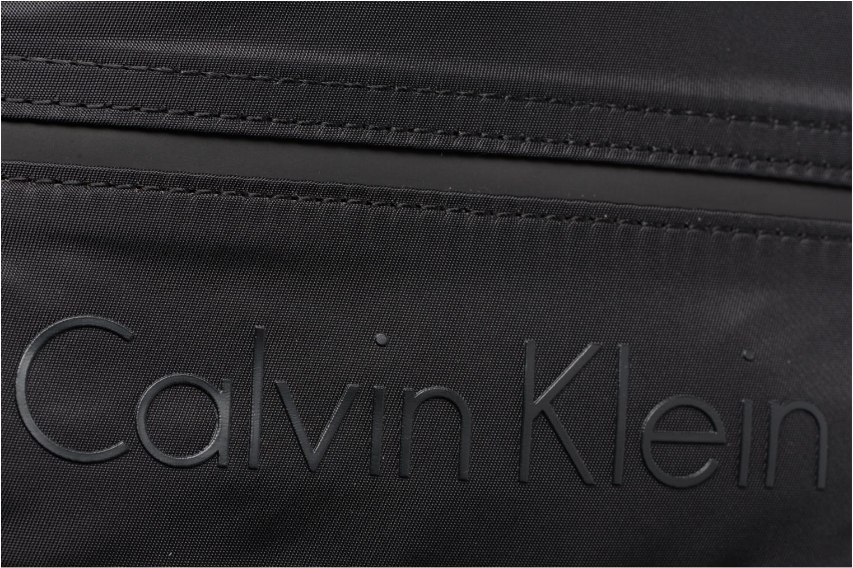 Sacs homme Calvin Klein Matthew 2.0 Mini Reporter Noir vue gauche