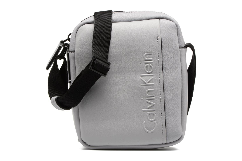 Herrentaschen Calvin Klein Elevated Mini Reporter grau detaillierte ansicht/modell