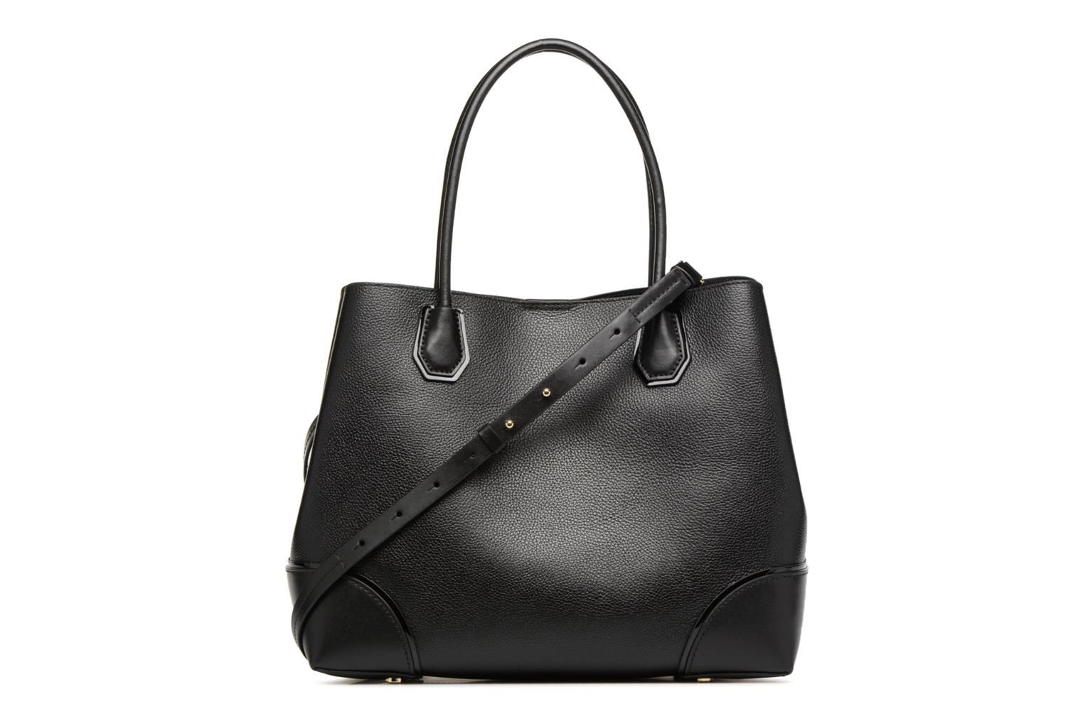 Borse Michael Michael Kors Cabas Mercer Gallery LG CENTER ZIP TOTE Nero immagine frontale