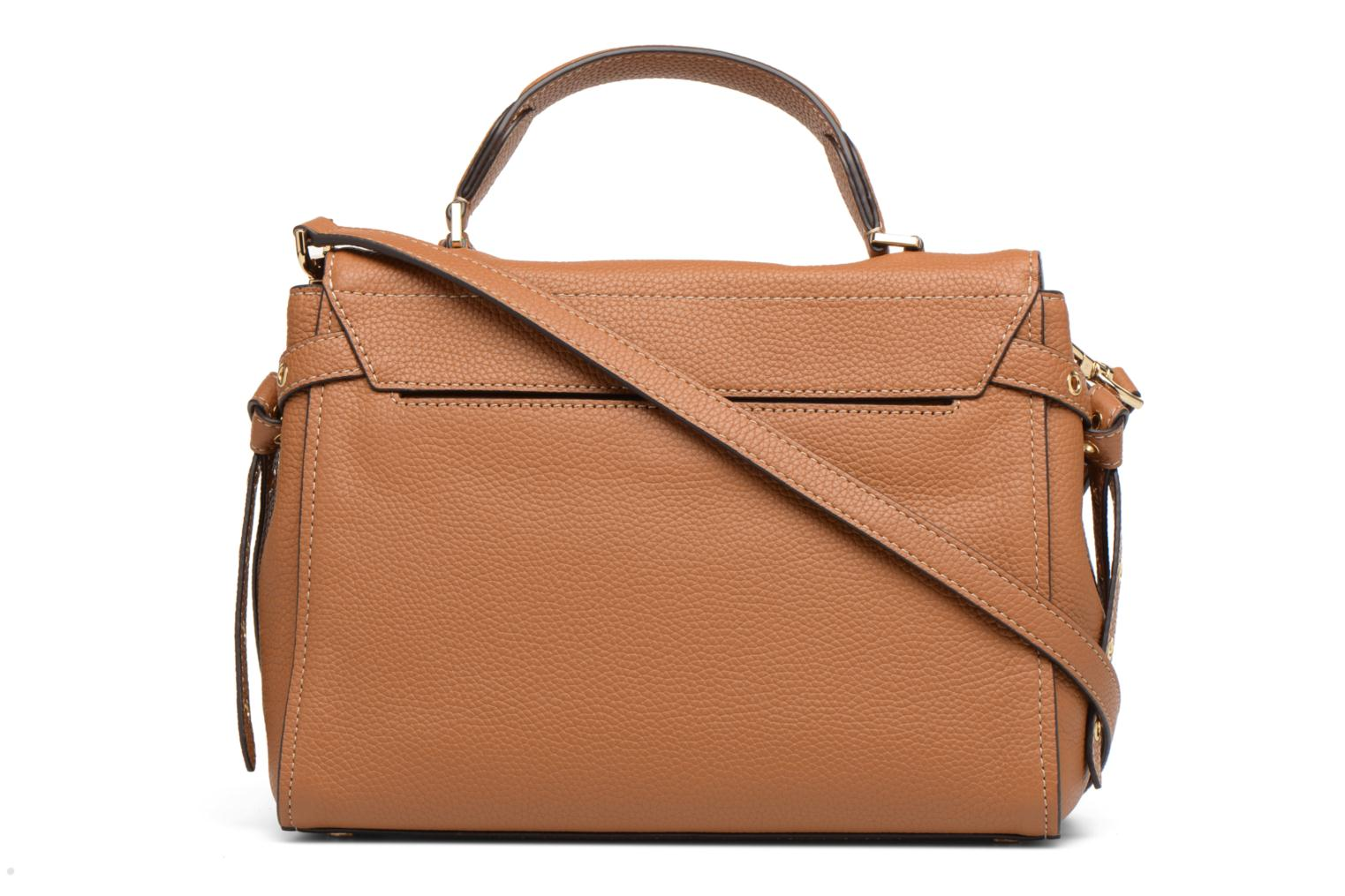 Sacs à main Michael Michael Kors Bristol MD TH SATCHEL Marron vue face