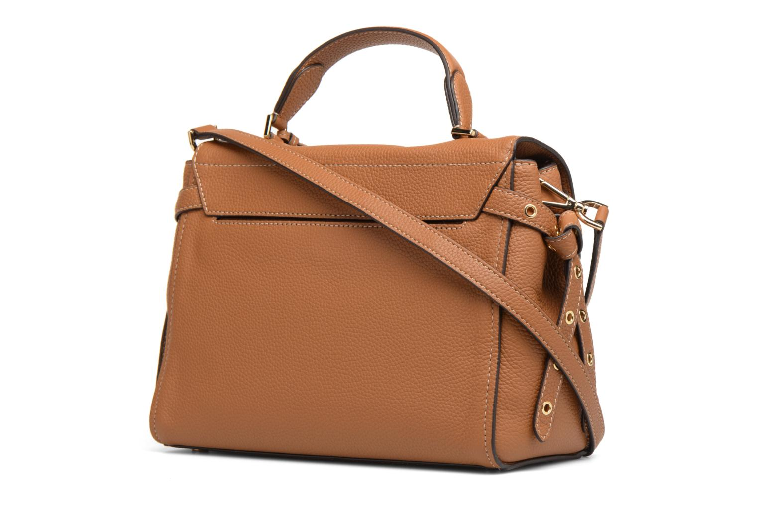 Sacs à main Michael Michael Kors Bristol MD TH SATCHEL Marron vue droite