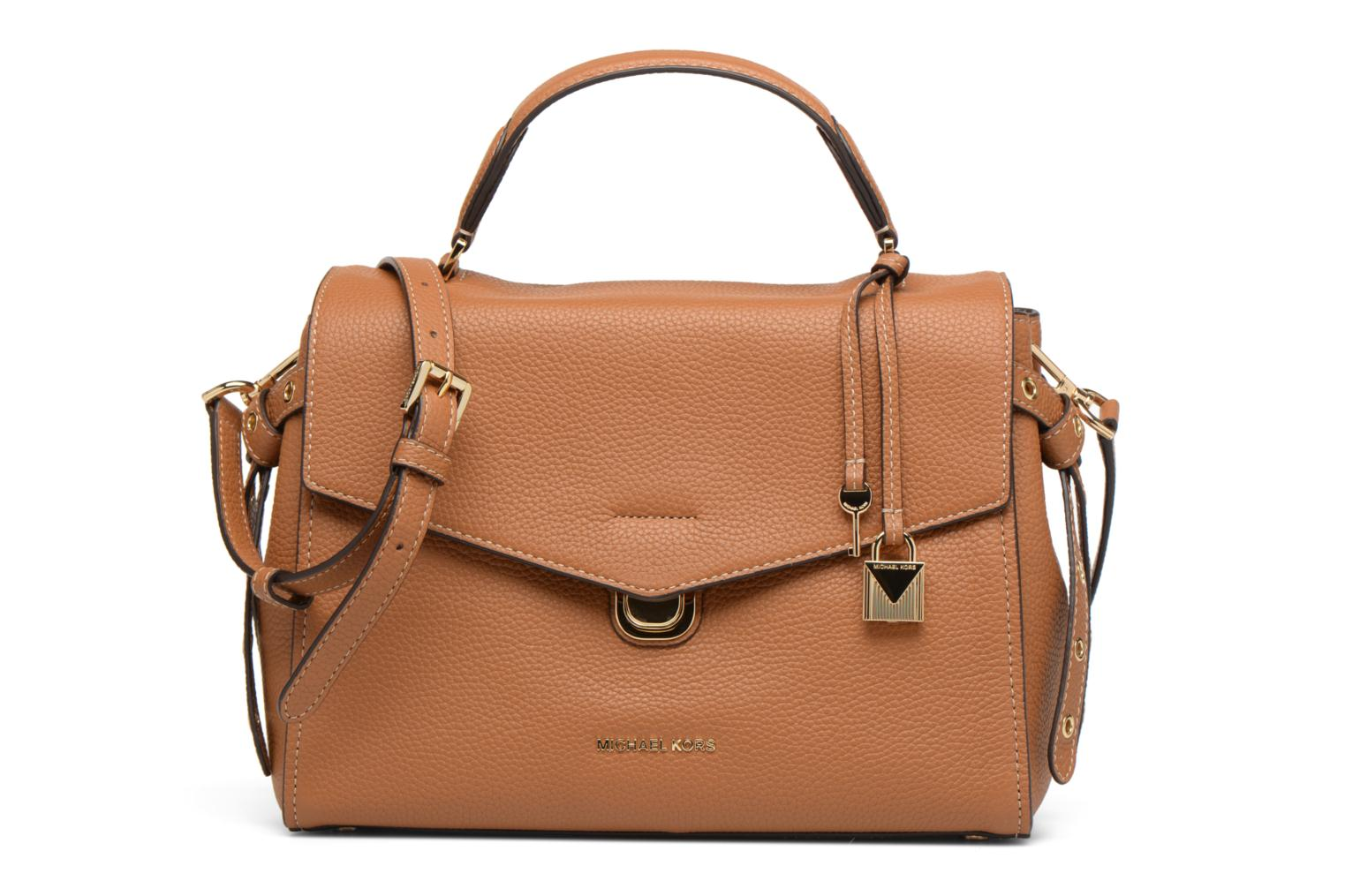 Sacs à main Michael Michael Kors Bristol MD TH SATCHEL Marron vue détail/paire