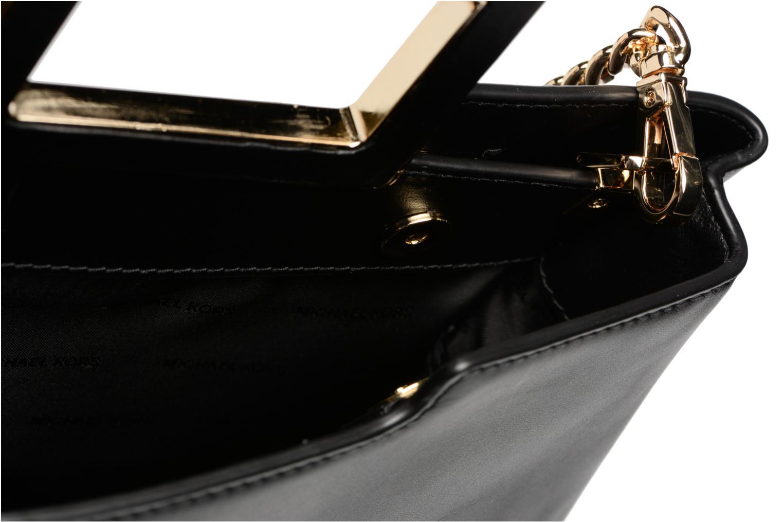 Bolsos de mano Michael Michael Kors Kristen LG TH SATCHEL Negro vistra trasera