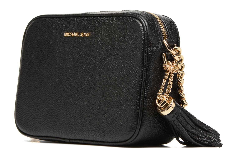 Bolsos de mano Michael Michael Kors Ginny MD Camera Bag Negro vista del modelo