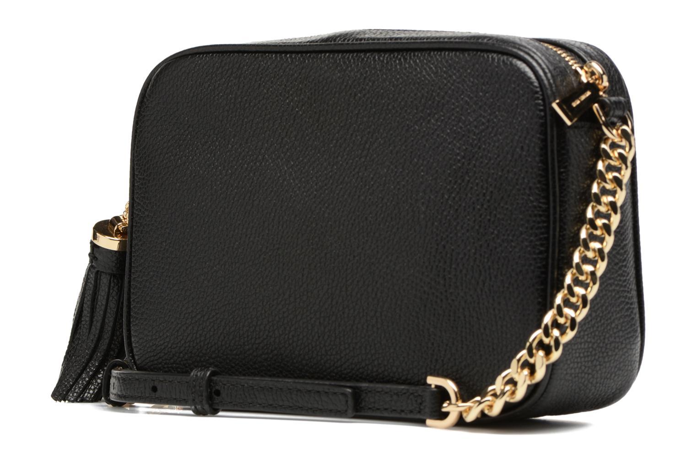 Bolsos de mano Michael Michael Kors Ginny MD Camera Bag Negro vista lateral derecha
