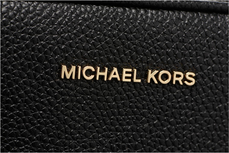 Bolsos de mano Michael Michael Kors Ginny MD Camera Bag Negro vista lateral izquierda