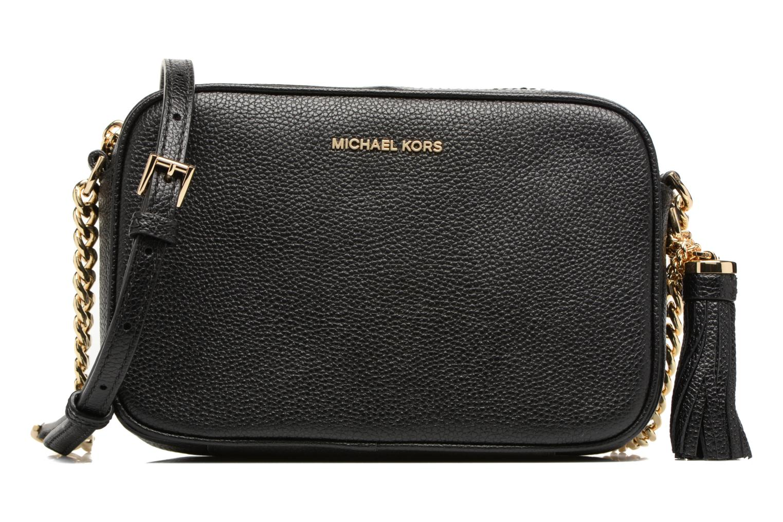 Bolsos de mano Michael Michael Kors Ginny MD Camera Bag Negro vista de detalle / par
