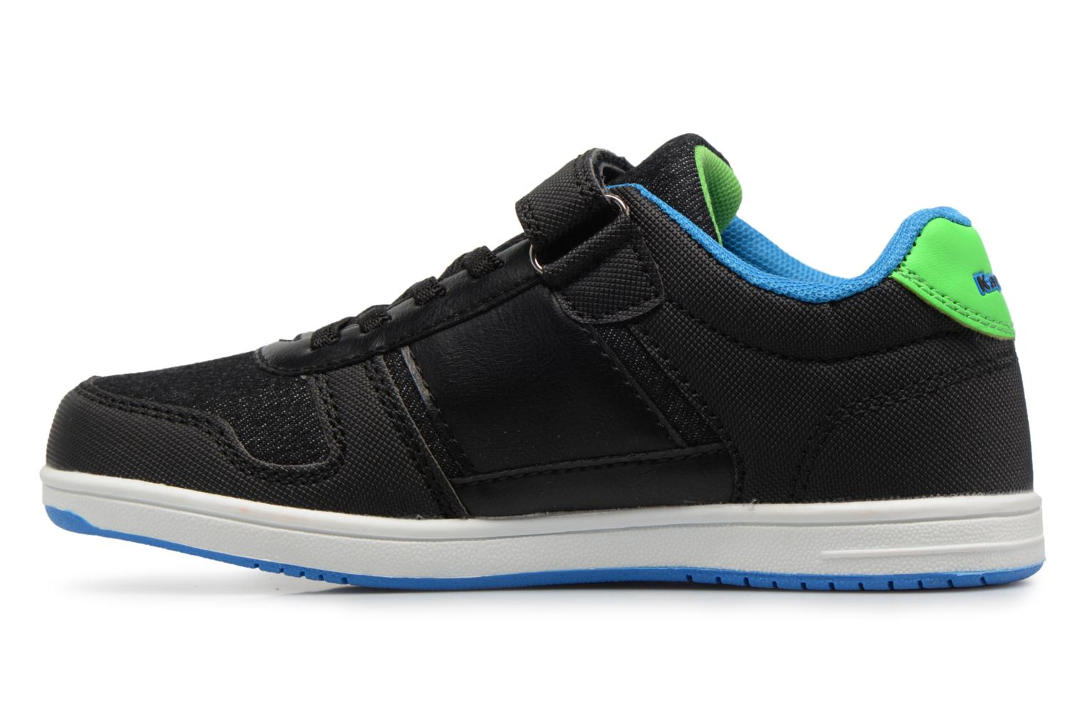 Baskets Kappa Draver Low Ev Noir vue face