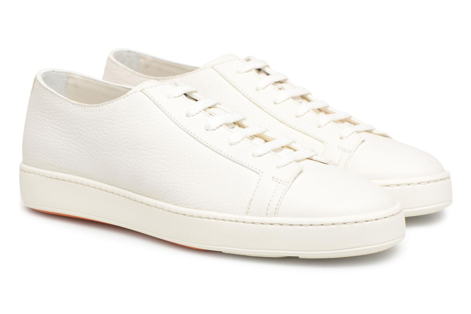 Sneakers Santoni Clean Icon Wit 3/4'
