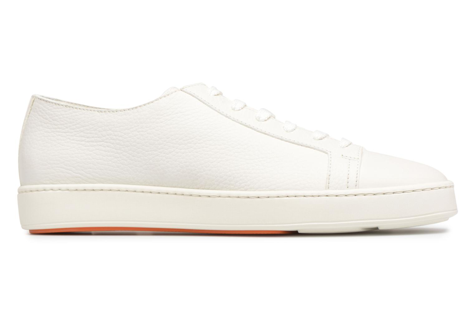 Sneakers Santoni Clean Icon Wit achterkant