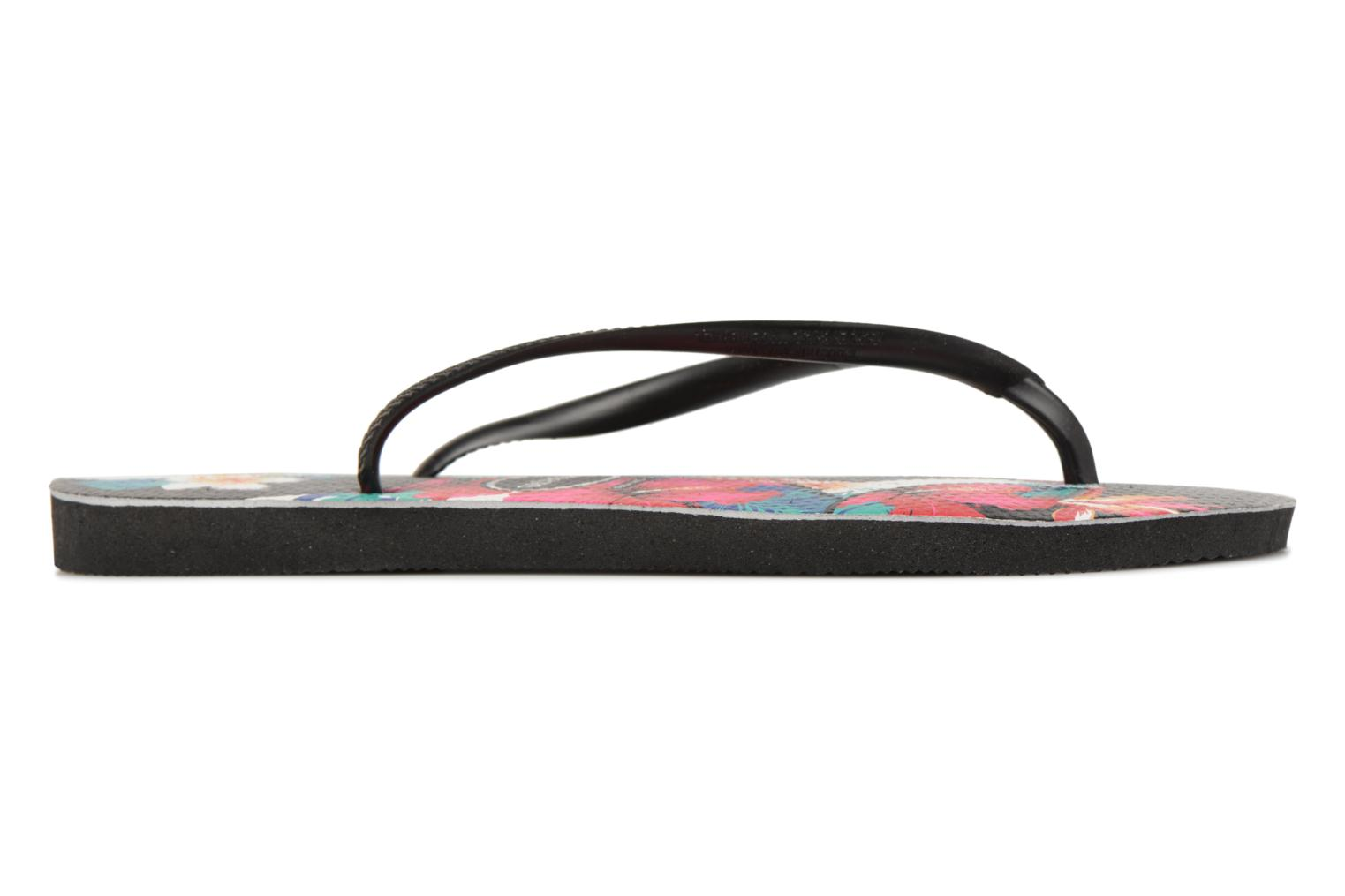 Slippers Havaianas Slim Tropical Floral Multicolor achterkant