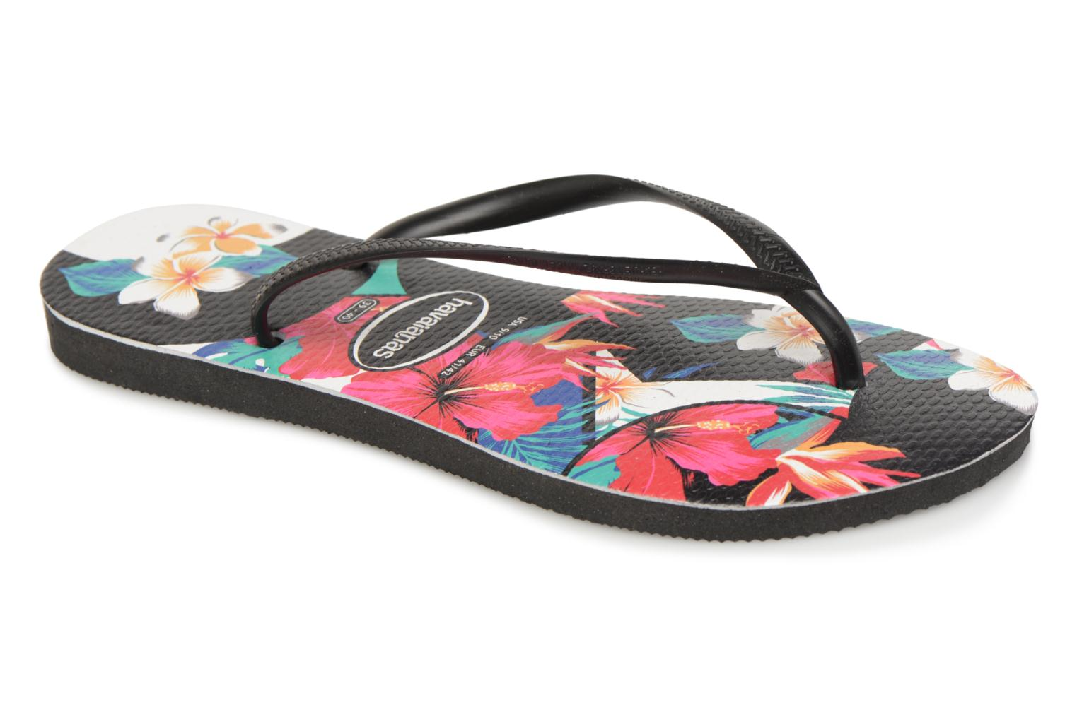 Slippers Havaianas Slim Tropical Floral Multicolor detail