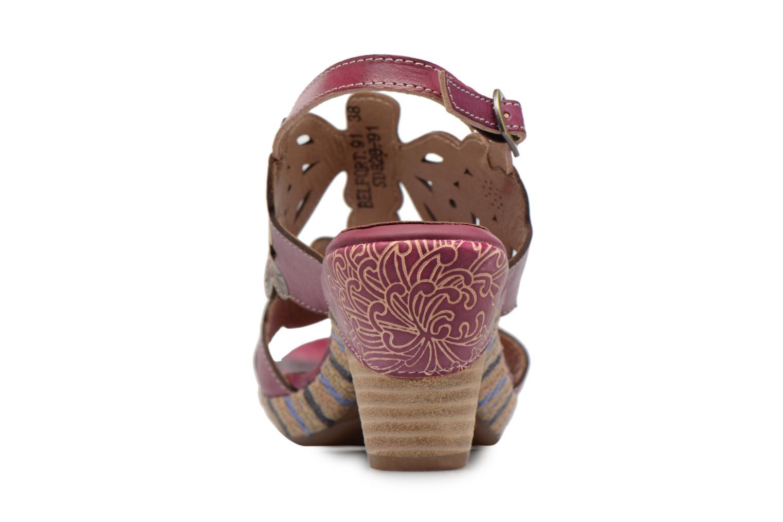 Sandales et nu-pieds Laura Vita Belfort91 Multicolore vue droite