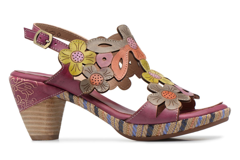 Sandales et nu-pieds Laura Vita Belfort91 Multicolore vue derrière