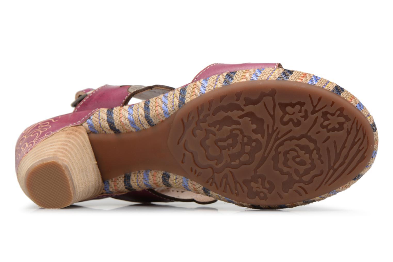 Sandales et nu-pieds Laura Vita Belfort91 Multicolore vue haut