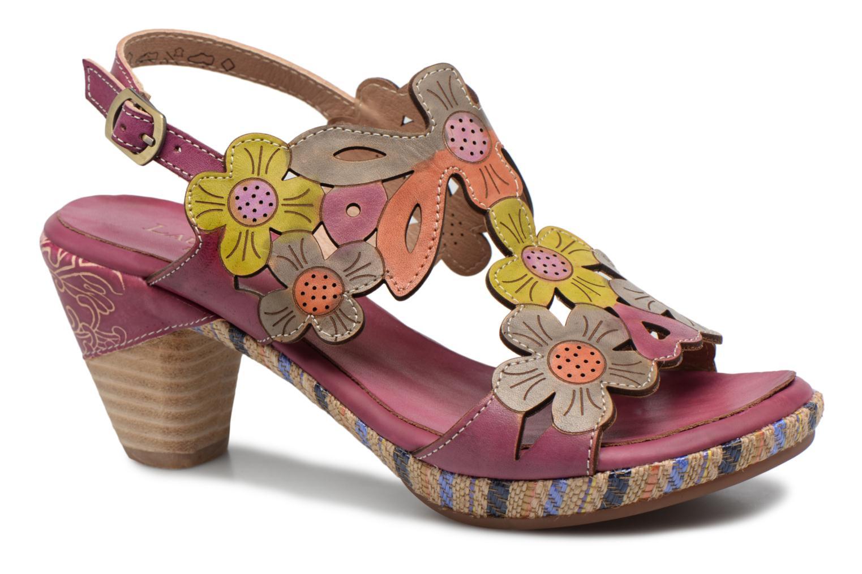 Sandales et nu-pieds Laura Vita Belfort91 Multicolore vue détail/paire